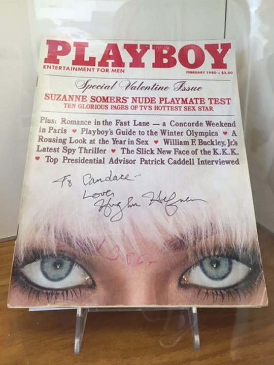 One of the top selling covers in history, this photo feature the eyes of Candace Jordan